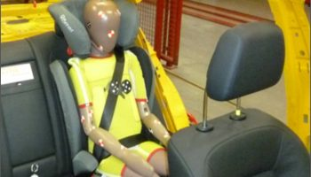 Meeting Euro NCAP rear seat safety requirements