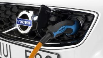 Volvo fast charger for C30 Electric