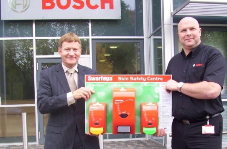 Bosch choose Swarfega for new training facility