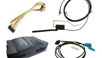Fully integrated aftermarket digital radio