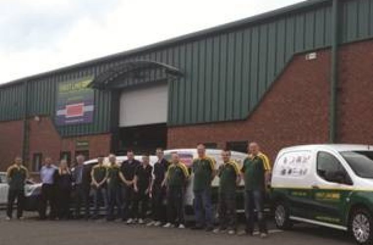 New Belfast Warehouse for First Line