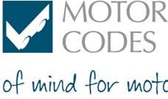 Government backs Motor Codes