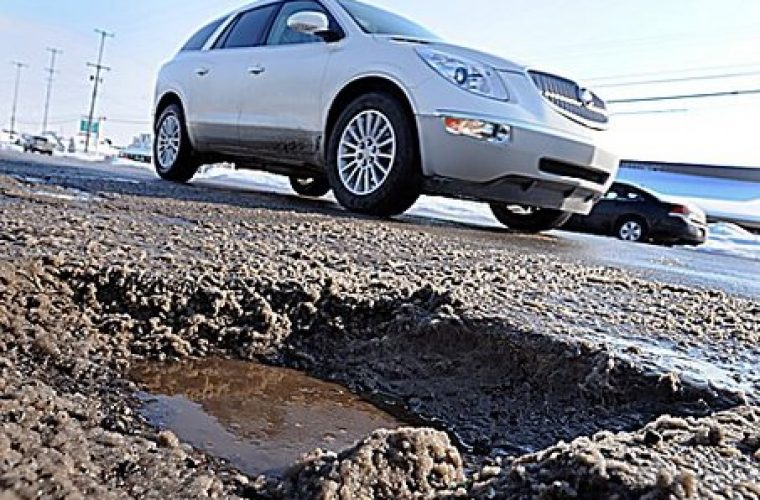 RAC find motorists fed up of crumbling roads