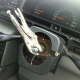 Driver caught steering with pliers