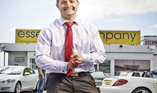 Essex car dealer on Channel 4 this week