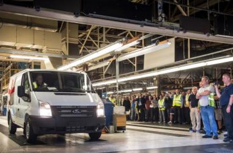 Southampton's farewell to Transit van