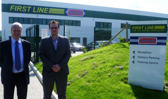 Borg & Beck helps First Line exports hit headlines