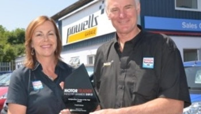 Powell's garage 2013 Motor Trader Awards winners