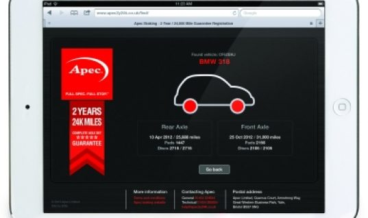 Apec's anniversary iPad giveaway