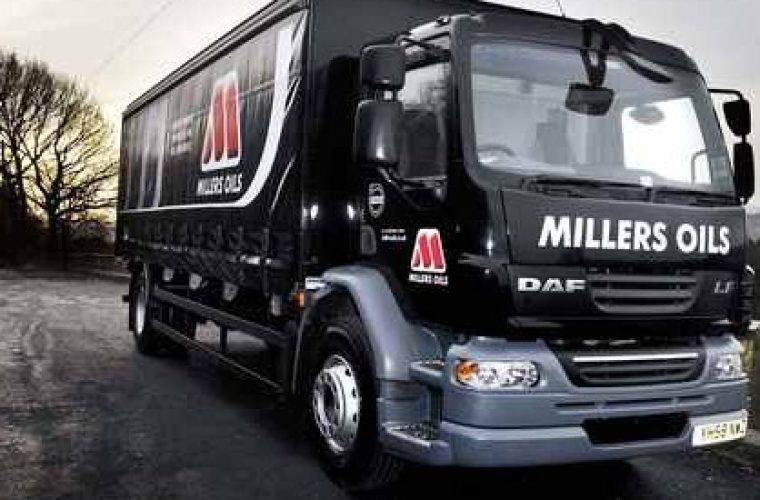 Millers Oils make Sunday Times list