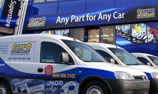 Euro Car Parts stirring paint market