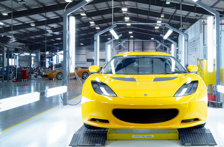 Lotus to employ 100 more in the UK