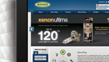 Ring's new web site seeing longer visits