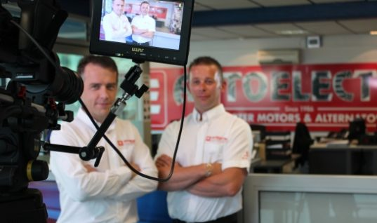 Autoelectro video shows rotating electrics expertise