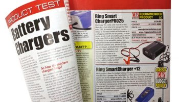 Ring chargers praised in product test