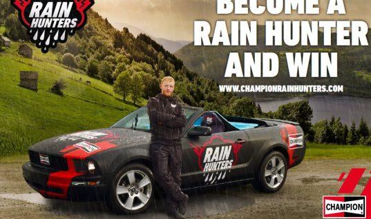 Be a Champion 'Rain Hunter' and win!