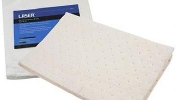 Oil absorbing pads from Laser