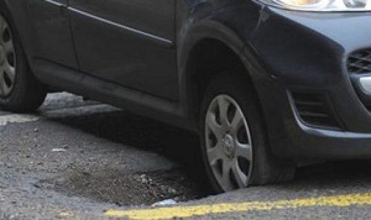 Pothole crisis deepening?