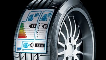 Tyre labeling gone flat