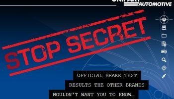 TMD react strongly to Unipart brake pad tests