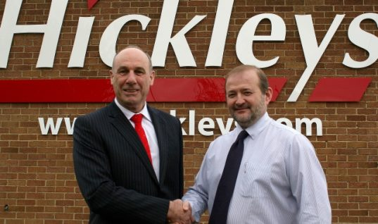 Hickleys appoint new Managing Director