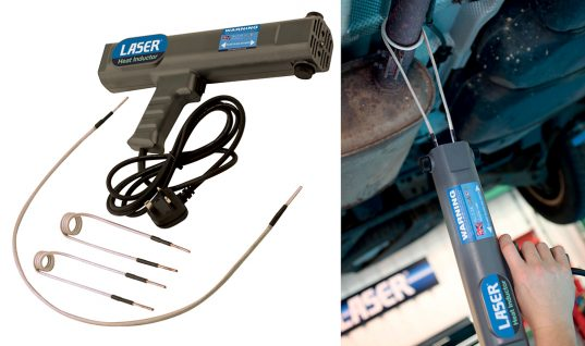 New heat inductor from Laser tools