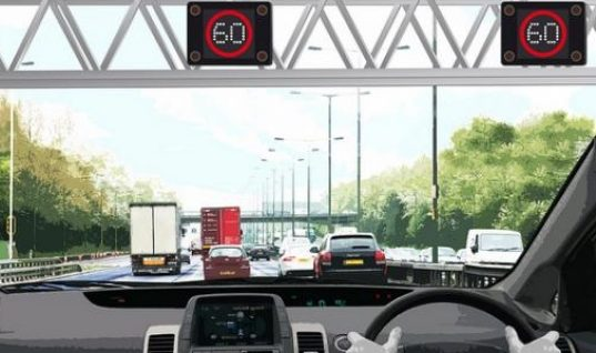 60 mph limit proposed for M1 stretch from 2015