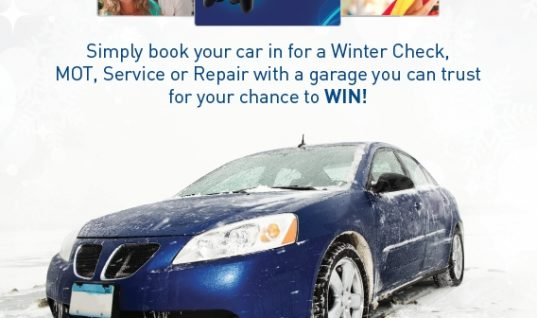 AutoCare's winter promotion was 'Top Draw'