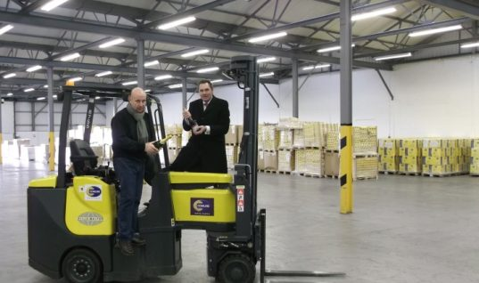 Comline start 2014 with warehouse expansion