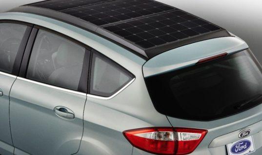 Ford's solar-powered car