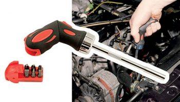 Versatile new ratchet screwdriver