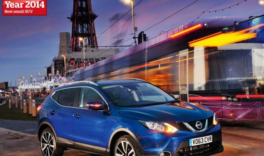 Nissan Qashqai named Car of the Year