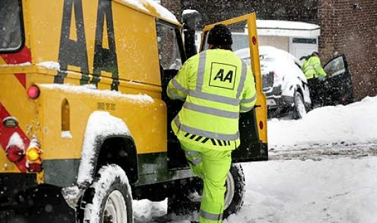AA's winter car check tips for drivers
