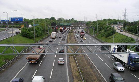 Emissions Analytics of lower motorway speed impact