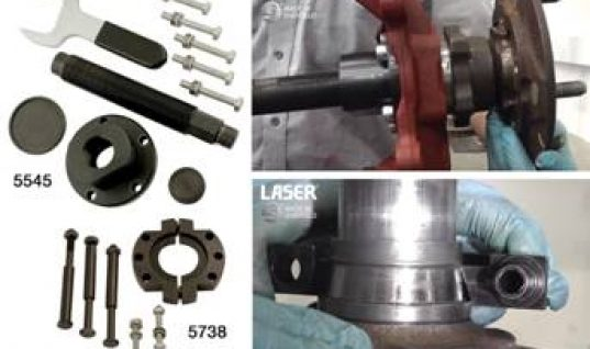 VIDEO: Ford Transit front wheel bearing removal tool