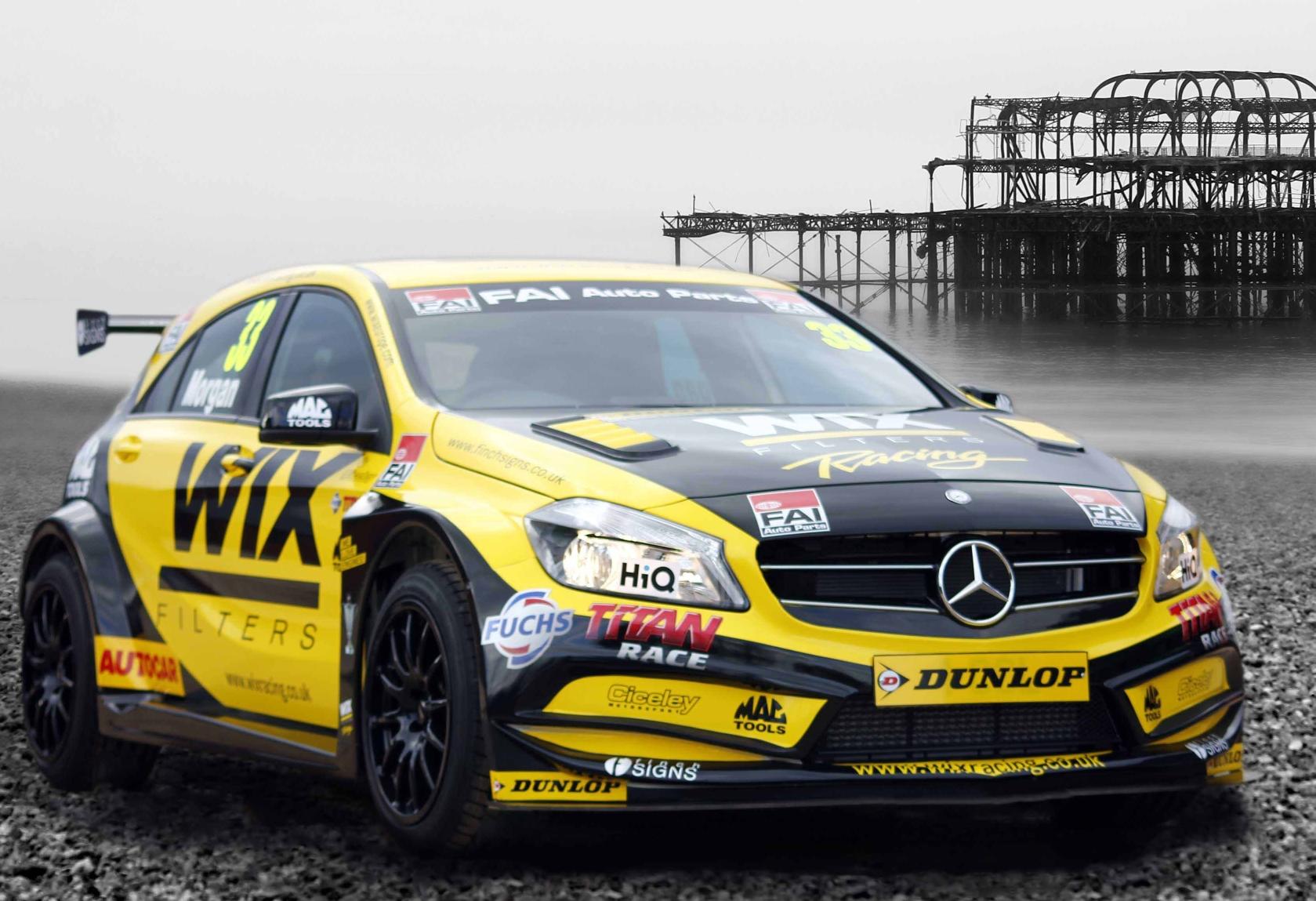 New Wix 2014 Btcc Race Livery Goes On Show Garagewire