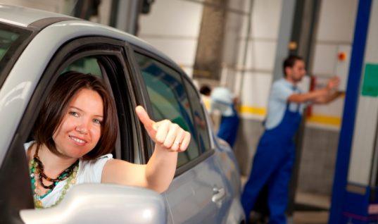 Approved Garages survey shows concerns of women motorists