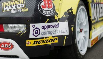 GROUPAUTO sponsor BTCC chevy for Approved Garages