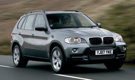 BMW X5 tops 'most stolen' list yet again
