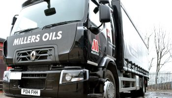 Millers Oils add two new Euro 6 trucks to the fleet