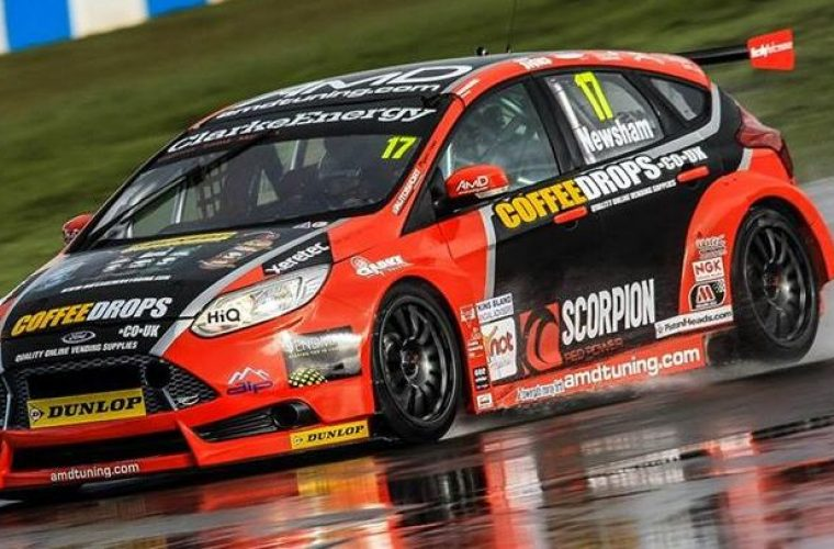 Millers Oils the lubricant partner for AMD team in BTCC