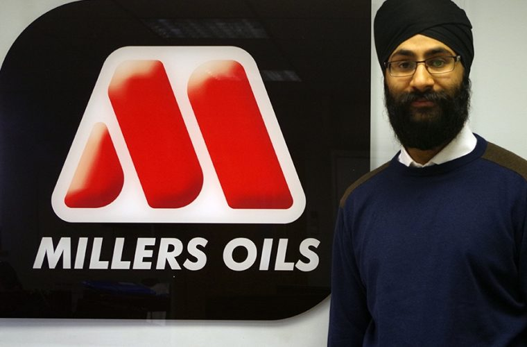 Millers Oils engineer wins award for oil technology research