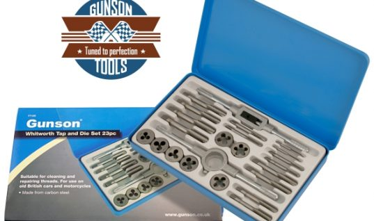New Whitworth Tap & Die set from Gunson Tools