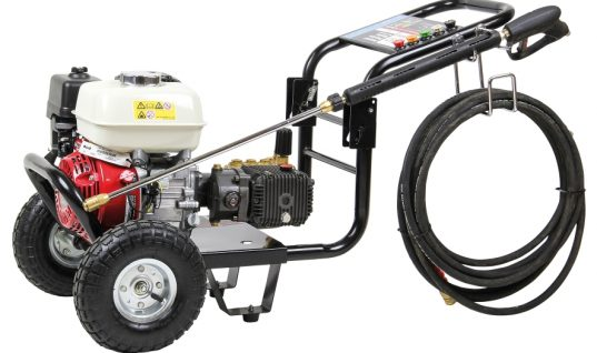 New SIP Tempest gearbox driven pressure washers