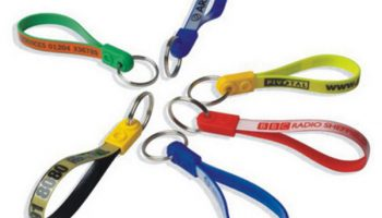 Ad-loop Keyrings with free personalisation from Prosol