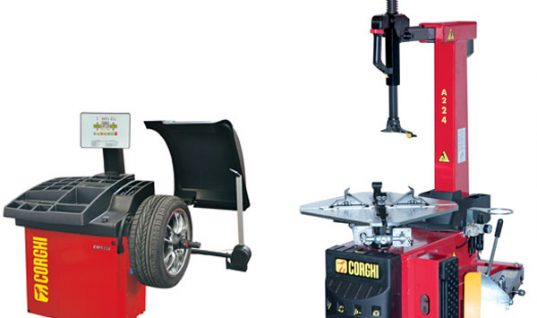 Corghi Tyre Changer A224 and Wheel Balancer EM9350 – Combi Offer