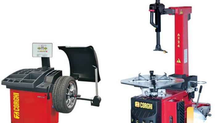 Corghi Tyre Changer A224 and Wheel Balancer EM9350 – Combi Offer
