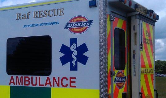 Dickies sponsor motorsport rescue