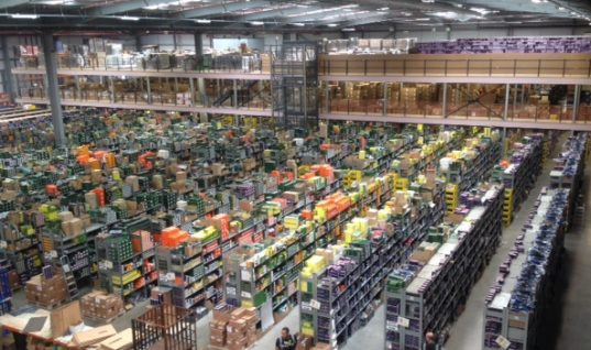 First Line's big boost to warehouse capacity