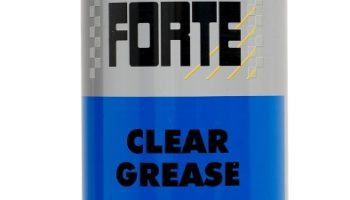 New Forte Clear Grease keeps moving parts lubricated